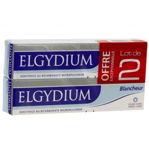 Elgydium dentifrice blancheur duo 75 ml