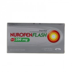 Nurofenflash 200mg 12 comprimés Pélliculés