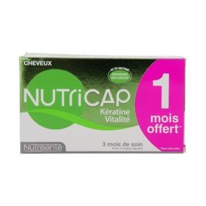 Nutrisanté nutricap kératine vitalité 3 mois 90 capsules