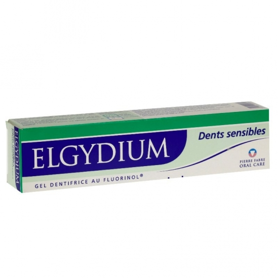 Elgydium dentifrice dents sensibles 75ml