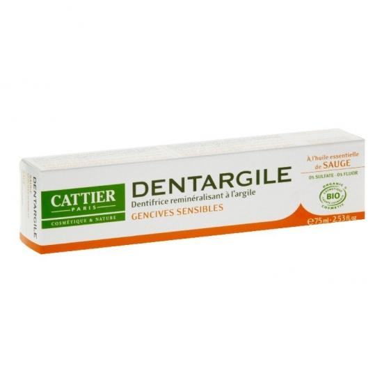 Cattier dentargile sauge 75ml