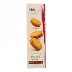 Milical nutrition saveur chocolat 12 biscuits