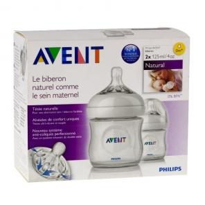 Philips Avent Biberon Natural Lot 2x125 ml