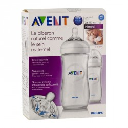 Philips Avent Biberon Natural Lot 2x330ml