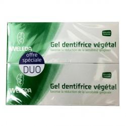 Weleda gel dentifrice végétal duo 75ml