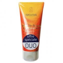 Weleda crème de douche à l'argousier duo de 2 x 200ml