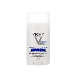 Vichy déodorant 24H peaux sensibles ou épilées stick 40ml