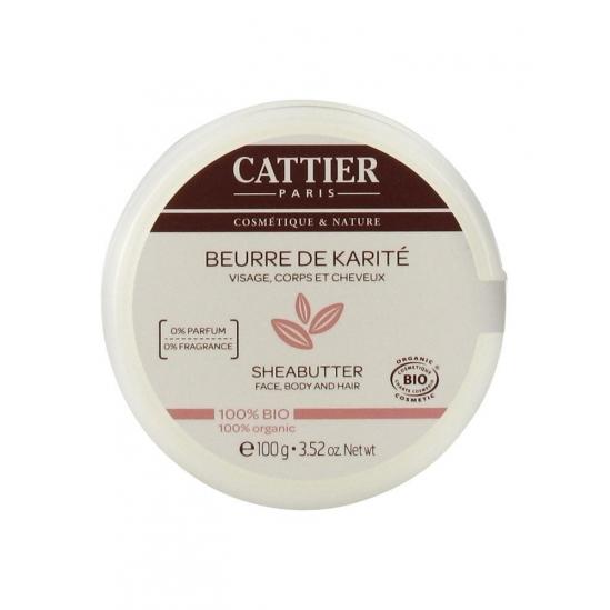 Cattier Beurre de Karité 100% Bio 100 g
