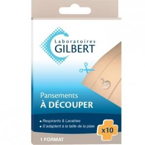 Gilbert pansements à découper x 10