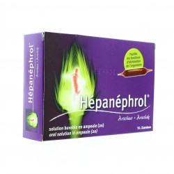 Hepanephrol Solution Buvable 20 Ampoules de 10ml