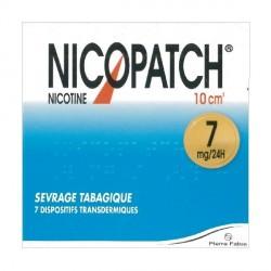 NICOPATCH 7MG/24H DISP TR SACH/7