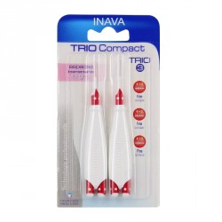 Inava brossettes trio compact 2 manches + 6 têtes
