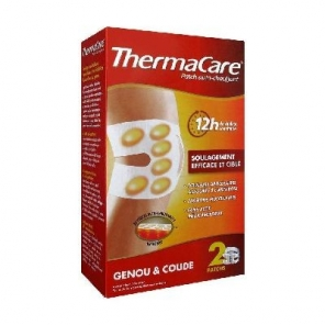 ThermaCare Patch Auto-Chauffant 12h Genou et Coude 2 Patchs