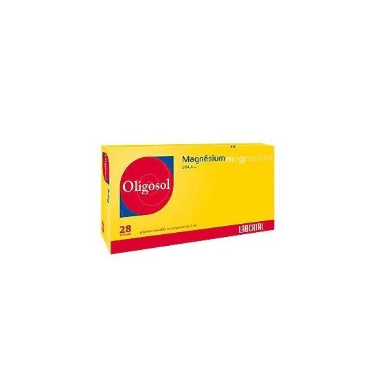 Oligosol Magnésium 28 ampoules