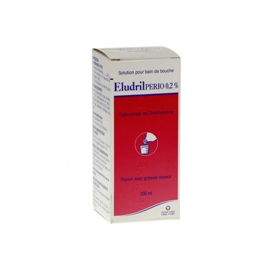 Eludrilperio 0,2% bain bouche 200ml