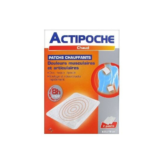 Cooper Actipoche 2 Patchs Chauffants