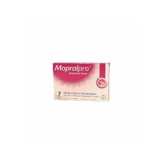 Mopralpro 20 mg comprimé gastro-résistantMopralpro 20 mg gastro-résistant 7 comprimés