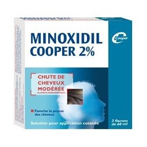 Minoxidil Cooper 2% 3 flacons de 60ml