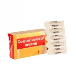 Coquelusedal adultes 10 suppositoires