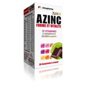 Azinc Junior Chocolat 30 Comprimés