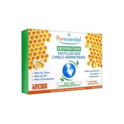 Puressentiel Respiratoire Pastilles aux 3 Miels Aromatiques 24 Pastilles