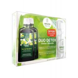 Weleda Duo Détox Jus de Bouleau Lot de 2 x 200 ml + 1 Bouteille Offerte