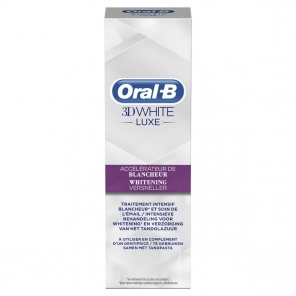 Oral-B 3D White Luxe Accélérateur de Blancheur 75 ml