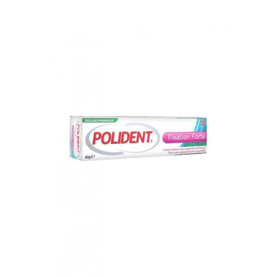 Polident Fixation Forte Crème Fixative pour Appareils Dentaires 40 g