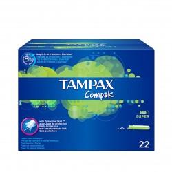 Tampax Compak Pearl Super B/22