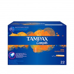 Tampax Compak Super Plus B/22