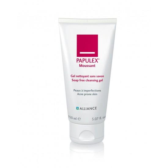 Alliance Papulex moussant gel nettoyant sans savon 150ml