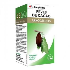 Arkopharma Arkogelues Fèves de Cacao 45 gélules