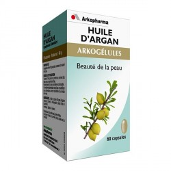 Arkopharma Arkogélules huile d'argan elasticite de la peau 60 capsules