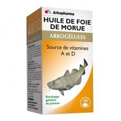 Arkogélules Huile de Foie de Morue 220 capsules