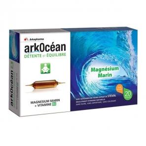 Arkocéan Magnésium Marin Goût Caramel 20 Ampoules