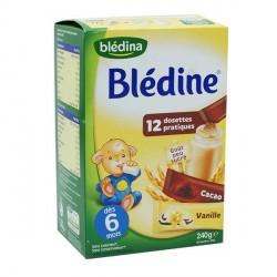 Blédina blédine vanille/cacao dosettes 240g