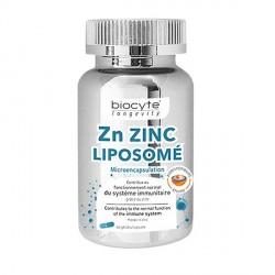 Biocyte zn zinc liposomé boite de 60 gélules