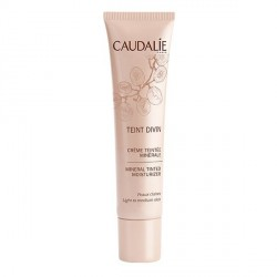 Caudalie teint divin crème teintée minérale peax claires 30ml
