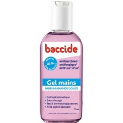 Baccide Gel Mains Amande Douce 75 ml