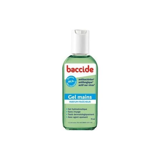 Baccide Gel Mains Hyroalcoolique 75ml