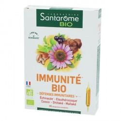 Santarome immunité bio boite de 20 ampoules