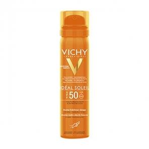 Vichy idéal soleil brume fraicheur visage SPF50 75ml