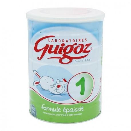 Guigoz confort 1er âge formule épaissie 800g
