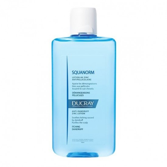 Ducray squanorm zinc lotion capillaire antipelliculaire 200ml