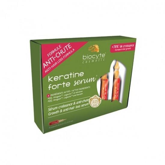 Biocyte Kératine Forte sérum 5x9ml