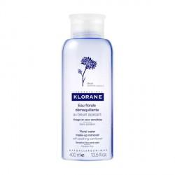 Klorane eau démaquillante apaisante au bleuet 400ml
