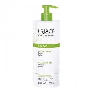 Uriage hyseac gel nettoyant peau grasse 500ml