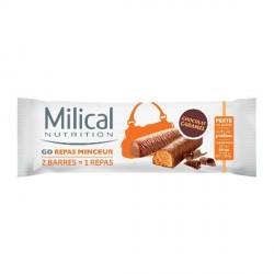 Milical barres minceur caramel 2x31g
