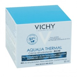 Vichy aqualia thermal crème riche pot 50ml
