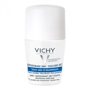 Vichy Déodorant Sans sels d'aluminium roll-on 50ml